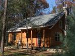 Carl's Cabins /The Timbered Treasure/ Adams WI.
