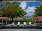 Harbor view villa on a hill a few minutes up from Gustavia WV ANG