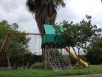 swing set available for children next door