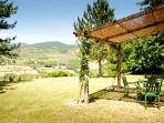 La veranda dove è possibile mangiare all'aperto