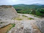 Segesta - Anfiteatro