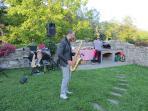 Music service on request (Saxophone,DeeJay, Karaoke)