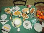 colazione con i prodotti della nostra azienda
