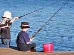 Can fish on lake from your back yard! or on the dingy