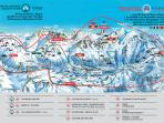 chamonix valley piste map