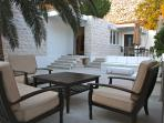 Luxurious Front Patio, perfect for entertaining