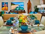 K507 Wailea Seashore Suite - Indoor Dining and Kitchen with Everything You May Need to Entertain and Dine 'Wailea...
