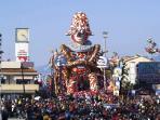 foto turistica - Viareggio - il Carnevale