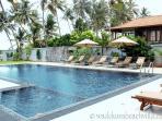 Swimming pool & seating