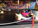 Bumper Cars are fun too!!!.