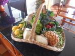 Greeting Basket of Local Products