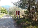 Private road for I Granai