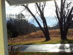 View from kitchen door looking towards Penobscot Bay
