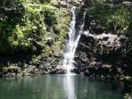 most photographed water fall going to Hana