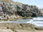 Winspit is a beautiful rocky cove a 20 minute walk from Worth Matravers