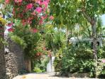 inside Alargo Villa Residence...way to our villa