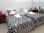 2 x King singles can be converted to a Super Super Kind Size bed