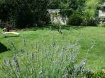 Se reposer dans le jardin des gîtes du Conon