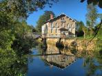 Moulin de Duellas - converted water mill just up the road.  Great place for a picnic!