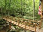Bridge crossing over Campbell's Creek