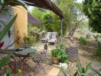 Terrasse, jardin Logement 'Le Pènequet'