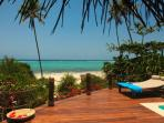 Matemwe Beach House - Deck