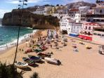 Carvoeiro Beach view