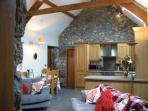 Full of original character - oak beams and  grainte stones