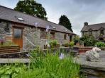 Original old farm buildings converted into cosy, homely accommodation
