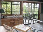 Master bedroom with master balcony