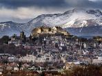 Stirling Castle is only 10 minutes drive from the Farmstay - along with many other local attractions