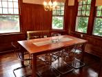 Huge separate dining room, table expands to seat 12