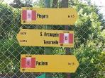 Tartagli Alti is perfect for walkers. These signposted routes leave from the bottom of the road