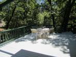 Nice outdoor living/dinning area
