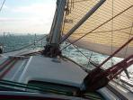 Nice Wind & Cool Sailing