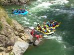 Rafting. Noguera Pallaresa.