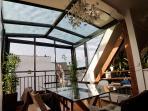 salle à manger verandé