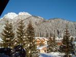 Balcone - Panorama inverno