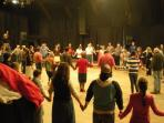 CONTRA DANCING: One Saturday evening per month in the Sautee-Nacoochee Community Assocaition