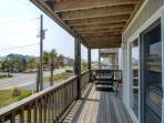 Covered Street-Side Deck