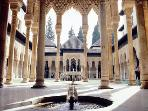 Court of the Lions in the Alhambra; a stunning Moorish palace in Granada - 1hr 45mins drive