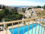 Livingroom balcony with mediterranean views