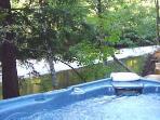 Hearthside Cabin, Hot Tub overlooking Austin Creek