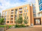 Modern development with secured entry door