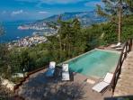 Private Swimming Pool overlooking Sorrentine Peninsula