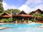 Main house, view from poolside