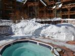 2 hot tubs are great for relaxing & socializing!