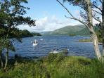 Summer on Loch Earn