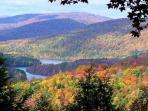 Ashokan Reservoir view in Sept./ Oct/ Nov.