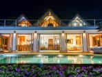 Villa Nusa at Night